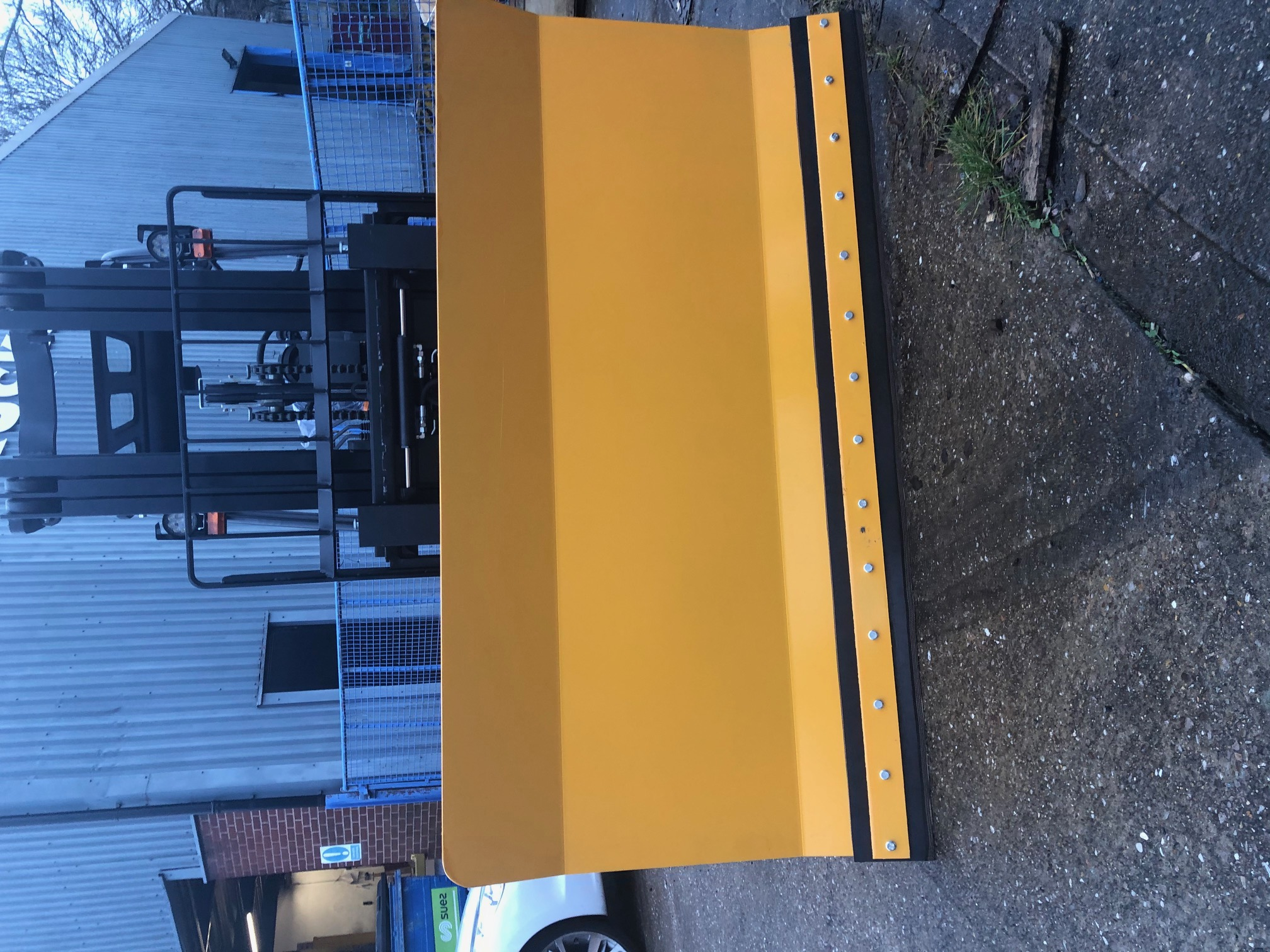 Snow Plough for forklifts