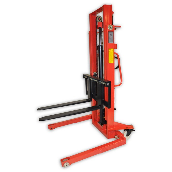 Warrior 1000kg Manual Straddle Stacker 2500mm