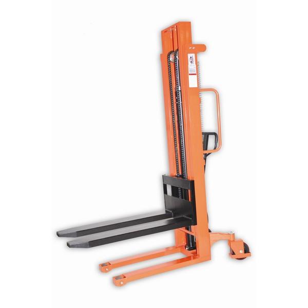 Warrior 1000kg Manual Variable Fork Stacker 1600mm