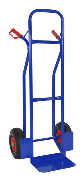 Warrior Eco 250kg Heavy Duty Sack Truck (Pneumatic Tyres) 14.5kg