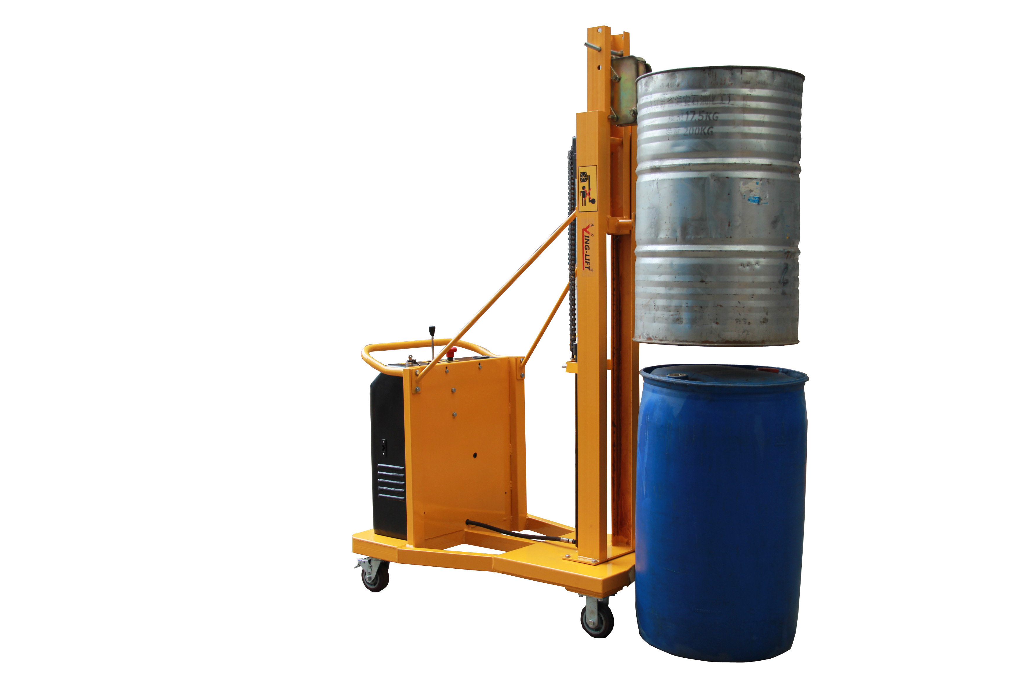 Warrior 280kg Counterbalanced Electric Drum Stacker