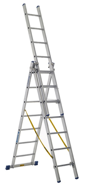 Warrior Combination Ladder (3 x 6 Rungs)