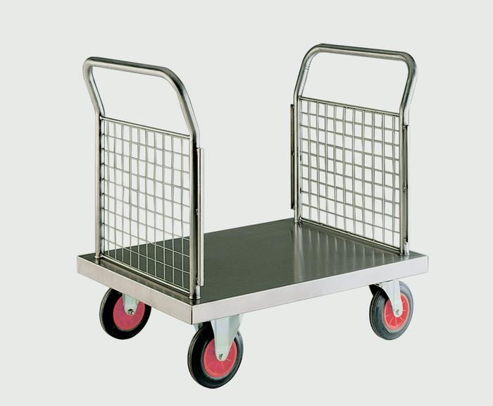 Warrior Stainless Steel Double Ended Platform Truck (A)