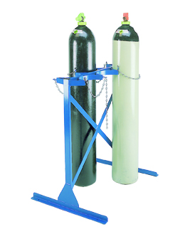 Warrior Double Sided 3 Cylinder (A) Cylinder Floor Racks