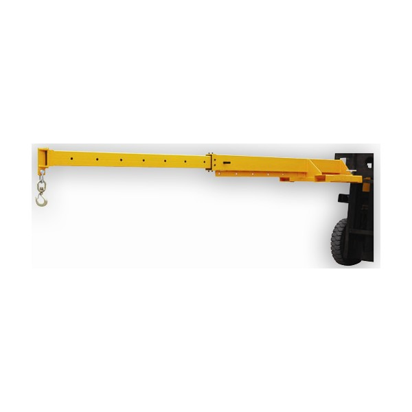 Warrior Adjustable Fork Mounted Telescopic Crane Jib