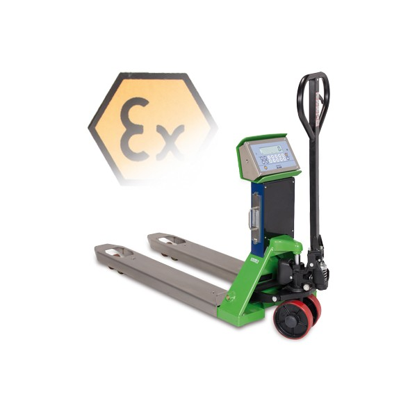 Dini Argeo TPWX2GD Hazardous Zone 1 ATEX Weigh Scale Pallet Truck