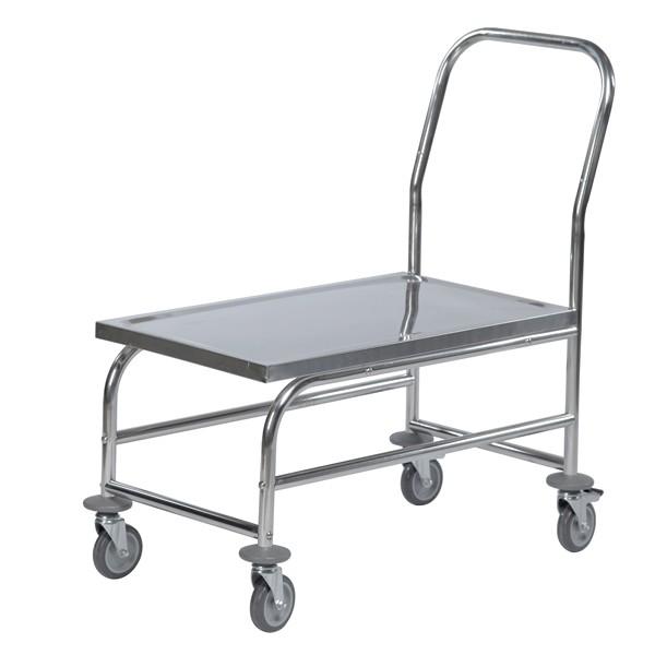 Warrior Stainless Steel Flat Board Trolley (KM 60363)