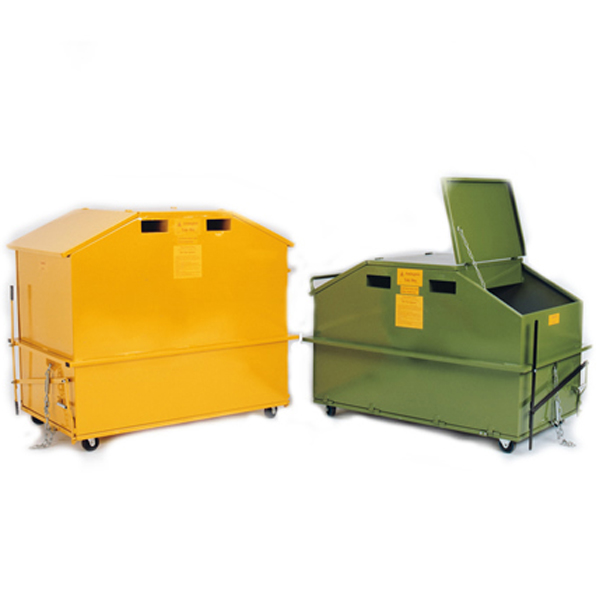 Warrior 1.5m3 Split Bin
