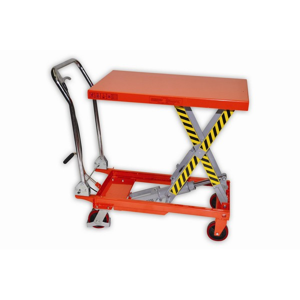 Warrior Eco 750Kg Mobile Lift Table