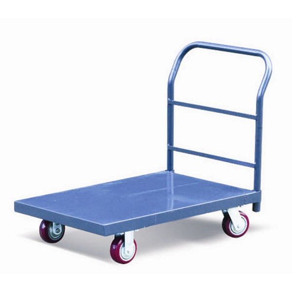 Warrior Heavy Duty 540kg Steel Platform Truck (1220mm x 760mm)