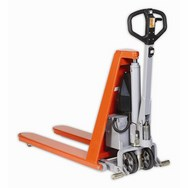 Warrior Electric High Lift Pallet Truck 1170mm x 680mm