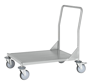 Warrior Stainless Steel Fully Welded Flat Board Trolley (KM 60360MR)