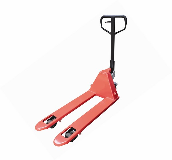 Warrior Heavy Duty 3000Kg EURO Pallet Truck 1150mm x 540mm Tandem Nylon Rollers