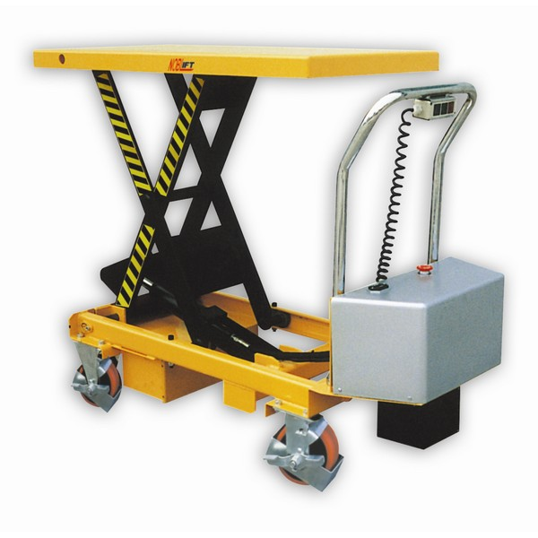 Warrior 300kg Semi Electric Mobile Lift Table