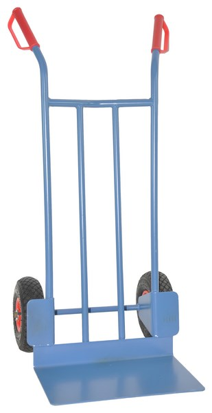 Warrior Eco 200kg Professional Heavy Duty Sack Truck (Pneumatic Tyres) 14kg
