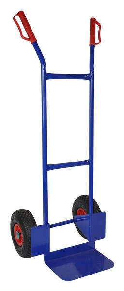 Warrior Eco 200kg Heavy Duty Sack Truck (Pneumatic Tyres) 14 kg