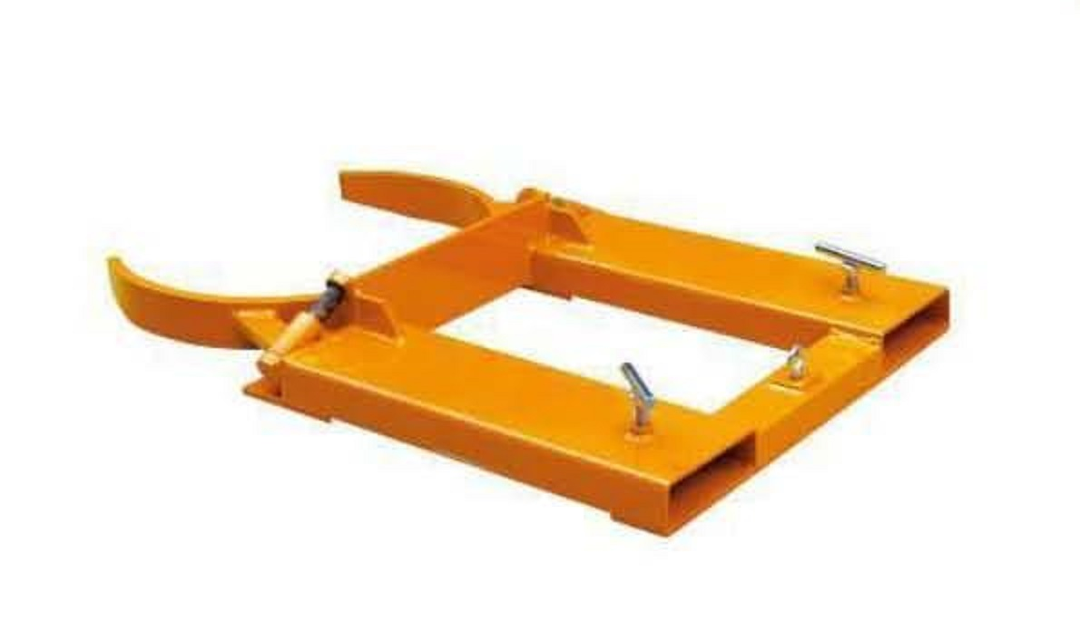 """Warrior Fork Mounted Auto Drum Clamps (Single Steel/Plastic """"L"""" Ring Drums)"""