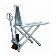 Warrior Galvanised High Lift Pallet Truck 1165mm x 680mm