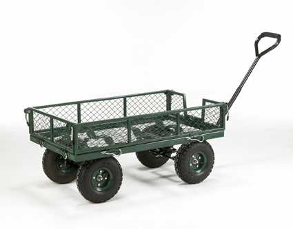 Warrior 250kg Mesh Sided Platform Truck (Garden Trolley)