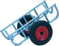 Warrior Heavy Duty Load Truck c/w 355mm Rubber Cushion Wheels