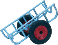 Warrior Heavy Duty Load Truck c/w 400mm Diameter Pneumatic Wheels