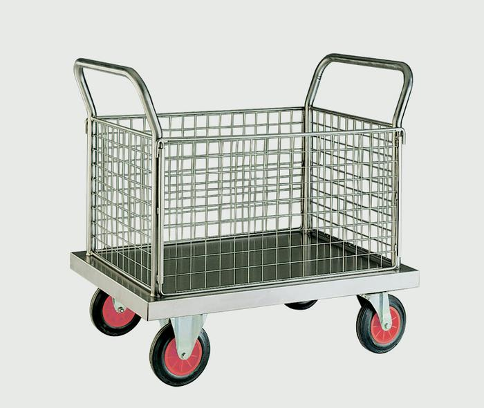 Warrior Stainless Steel Four Sided Platform Truck (C)