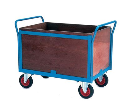 Warrior Four Sided Firm Loading Trolley (B)