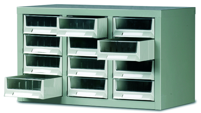 Warrior Topdrawer Cabinet c/w 12 Drawers