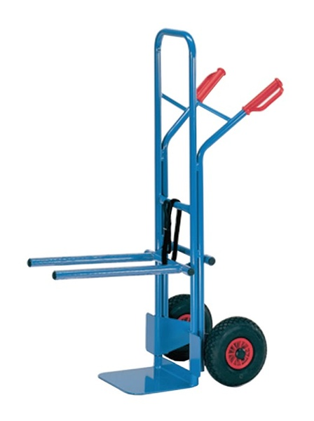 Warrior 300kg Adjustable Arm Chair Trolley