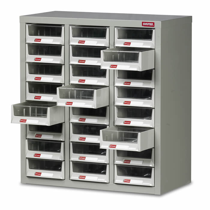 Warrior Topdrawer Cabinet c/w 24 Drawers