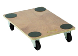 Warrior 240kg (70mm Wheel Diameter) Plywood Dolly