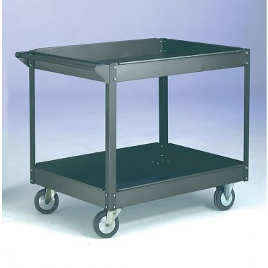 Warrior 250kg Steel 2 Shelf Trolley