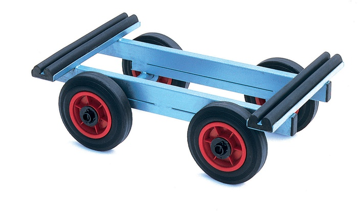 Warrior Heavy Duty Dolly Truck (Plain Bearing)