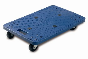 Warrior 100kg Blue Plastic Dolly