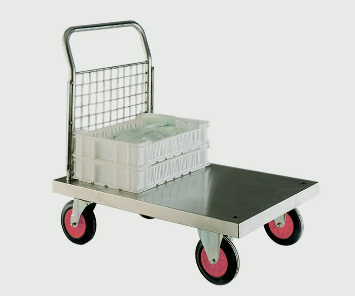 Warrior Stainless Steel Single Ended Platform Truck (A)