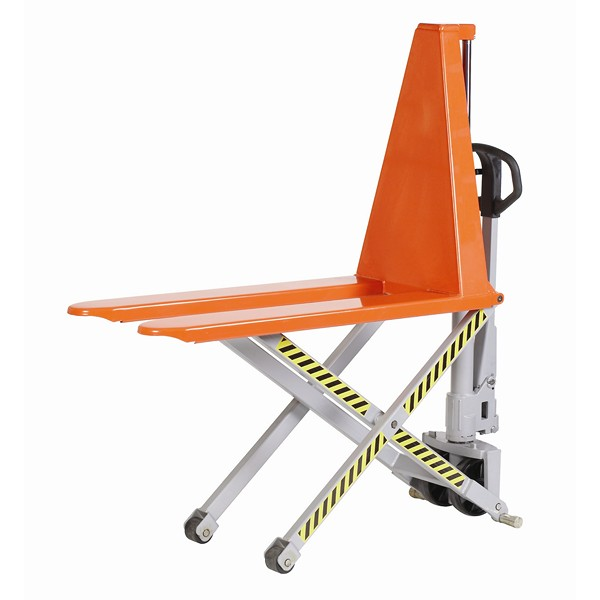 Warrior 1000kg Manual High Lift Pallet Truck 1170mm x 680mm