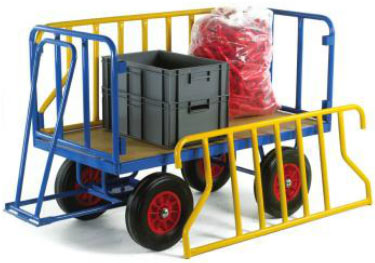 Warrior 750kg Turntable Trailer with Tubular Support