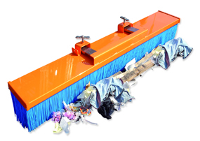 Warrior Basil Fork Mounted Sweeper (1500mm width)