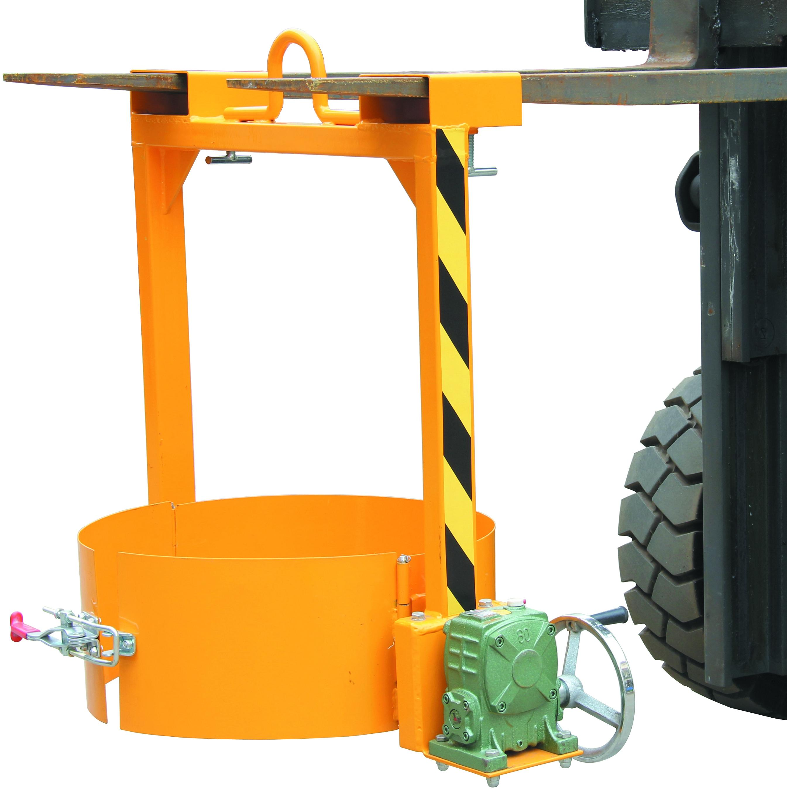 Warrior 350kg Forklift & Crane Mounted Drum Lifter
