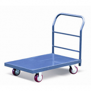Warrior Heavy Duty 450kg Steel Platform Truck (1520mm x 760mm)