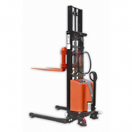 Warrior Semi Electric Straddle Stacker (2500mm)