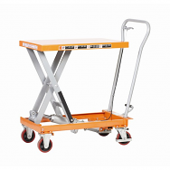 Warrior Premium 500Kg Extra Large Manual Mobile Lift Table