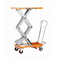 Warrior Premium 500KG Double Scissors Manual Mobile Lift Table
