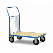 Warrior 500kg HD Mesh Sided (1 Full Side) Platform Truck 1000mm x 700mm