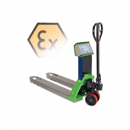Dini Argeo TPWX3GD Hazardous Zone 2 ATEX Weigh Scale Pallet Truck