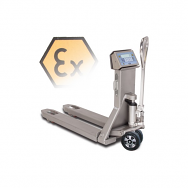 Dini Argeo TPWX2GDSS Stainless Steel Hazardous Zone 1 ATEX Weigh Scale Pallet Truck