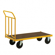 Warrior Rough Terrain Steel Platform Truck 1250 x 650 mm