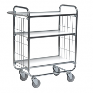Warrior Flexible Shelf Trolley 945 x 470 x 1120 mm (3 shelves)