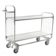 Warrior Trolley with Central Locking including 2 shelves