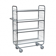 Warrior Flexible Shelf Trolley 945 x 470 x 1590 mm (4 shelves)